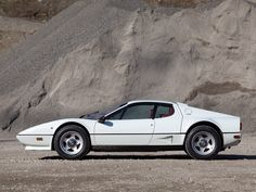 White Ferrari 512 BB