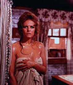 """Claudia Cardinale in """"C'era una volta il West"""" (Sergio Leone, 1968)"""