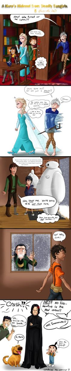 A Hero's Hideout from Deadly Fangirls 5 (strip) by Starwarrior4ever on DeviantArt<< this is perff!!! :D