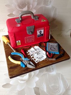Cake Decorating Tool Box Pinraquel Ramirez On Hector  Pinterest  Cake Amazing Cakes