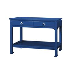 Bungalow 5 Harlow Console in Blue