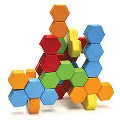 Hexactly blocks