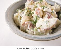 Columbian Recipe: Red Potato Salad - Ensalada de Papas Rojas | Go Au Pair Cookbook | Go Au Pair
