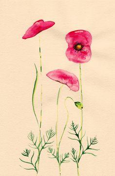 Colleen Parker, watercolor