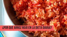 Beneficios del arroz rojo  El arroz rojo es una de las mejores opciones en alimento si lo que deseamos es disminuir el paso del envejecimiento en el cuerpo humano o enfermedades que afecten al organismo con el transcurso del tiempo, esto es debido a que cuenta con antioxidantes que protegen contra organismos que dañan las células.