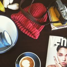 Feeling that feeling after unpacking from our trip into the mountains- coffee/magazine combo to the rescue!