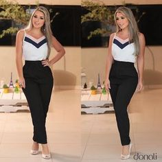 Linda e radiante com esse look maravida! {calça linda + blusa perfeição}〰
