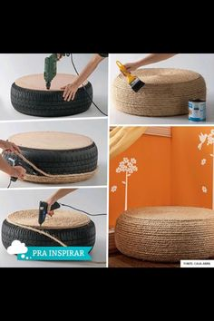 Recycled tyre