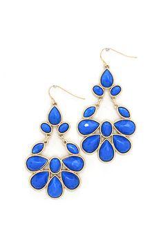 Juniper Chandelier Earrings in Azure