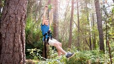 Build a backyard zip line using the complete zip line kits from Zip Line Gear. Order commercial zip line kits for your business. Zip Line Backyard, Backyard Patio, Diy Zipline, Backyard Zipline, Zip Line Kits, George Of The Jungle, Dad Of The Year, Diy Adult, Kid Picks