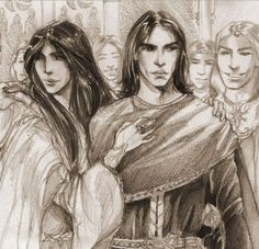 Aredhel and Maeglin in Gondolin
