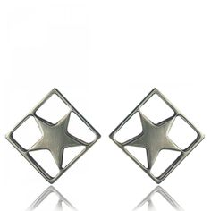 Etoile carrée Earrings - Coté Mecs