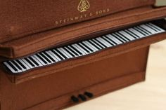 #want >> Musical Instrument Purses - The Steinway and Sons #Piano Bag is a Portable Model