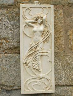 RARE Ernst Wahliss Amphora Wall Plaque 295 Mercury God of Travelers 15 H x 22 W | eBay | Art Nouveau | Pinterest & RARE Ernst Wahliss Amphora Wall Plaque 295 Mercury God of Travelers ...