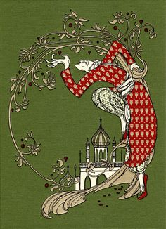 Kate Baylay: The Olive Fairy Book by Andrew Lang
