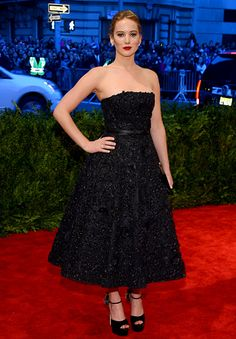 Met Gala 2013: Jennifer Lawrence in Dior
