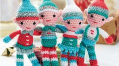 We've put together the cutest collection of Free Christmas Crochet Patterns that you will love. Check out the Nativity scene, hats, snowflakes and more.