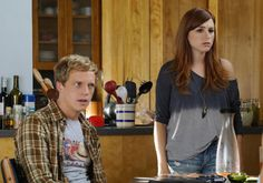 """""""You're the Worst"""" Season 2 Chris Geere & Aya Cash Episode 7 Chris Geere, You're The Worst, Bruce Willis, Popular Shows, Big Bang Theory, Best Tv, Flirting, Movies And Tv Shows, Favorite Tv Shows"""