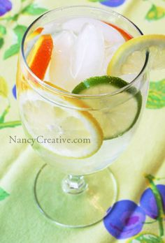 flavored water :) recipes and tips