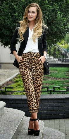 Leopard Pantaloon fashion for girl