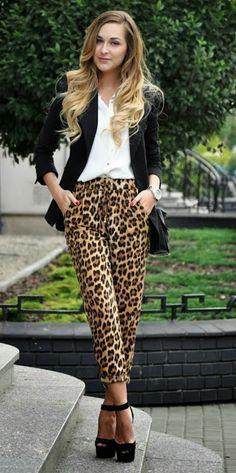 Leopard Pantaloon fashion for girl