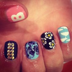 MIX AND MATCH - @WAH Nails- #webstagram