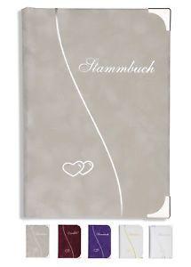 Familienstammbuch Braun Derno Holzoptik Stammbuch der Familie Hochzeit Trauung
