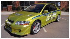 2002 Mitsubishi Lancer Evolution VII || Brian O'Connor