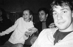 Cute photo of John Krasinski, Steve Carell and Angela Kinsey