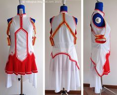 Costume per cosplay realizzato su misura: Asuna - Custom-tailored cosplay costume: Asuna - by RobyGiup handmade #sewing #cosplay #made-to-order