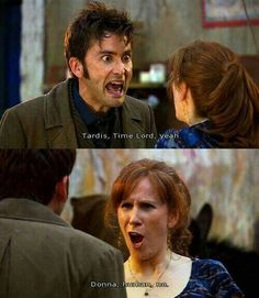 I love Donna, she's my favorite.