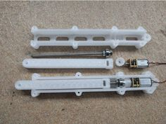 printer design printer projects printer diy Joints Joints Micro Linear Actuator by YXC - Thingiverse you can find similar pins below. Desktop 3d Printer, 3d Printer Kit, 3d Printer Designs, 3d Printer Projects, 3d Projects, Diy Electronics, Electronics Projects, Robot Design, 3d Design
