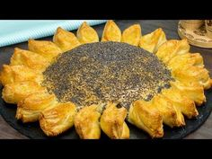 Impresionează-ți chiar și cei mai exigenți musafiri! Tartă în formă de floarea soarelui. | SavurosTV - YouTube Carne Picada, Polish Recipes, Relleno, Chocolate Cake, Pineapple, Goodies, Food And Drink, Appetizers, Baking