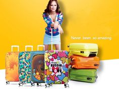 Travel On Road Anti-Dust Luggage Cover Strecth Suitcase Covers Protector Protective Trunk Case Cover For 18-32 inch Trolley *** Check out this great product.