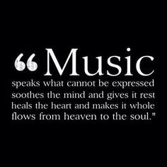 Music..from the heaven to the soul