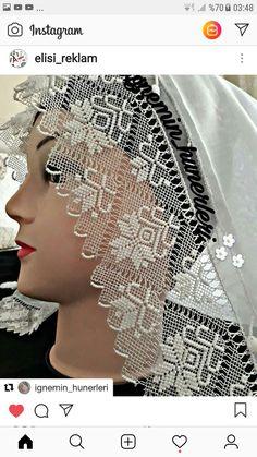 ~ Pin by Nicoletaconstantinescu on Tricotaj Cotton Crochet, Crochet Lace, Crazy Quilt Stitches, Filet Crochet, Quilt Stitching, Needle Lace, Crewel Embroidery, Scarf Styles, Crochet Edgings