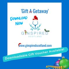 Download the Ginspired Scotland Gift Card today.
