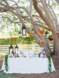 Modern California Wedding in Rancho Santa Fe (MODwedding) Outdoor Wedding Tables, Wedding Reception Table Decorations, Outdoor Parties, Reception Ideas, Wedding Venues, Wedding Photos, Wedding Ideas, Williamsburg Winery, Tree Lanterns