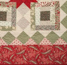 More great project kits  Holiday Dash Quilt Kit   Sparkling Table Runner Kit   Flourishing Accents Tree Skirt Kit  Solstice Quilt Kit   Star...