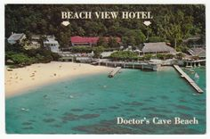 Postcards - Jamaica #  641 - Beach View Hotel, Montego Bay, Jamaica