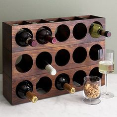 Vintage Wine Cool 88 Genius Diy Wine Rack Ideas Offer Unique Touch Home. - I was looking at an interesting bar item the other day. It might have held about sixty bottles of wine and […] Wine Rack Design, Wine Rack Storage, Tea Storage, Storage Shelves, Wine Shelves, Wood Wine Racks, Unique Wine Racks, Vintage Wine, Italian Wine