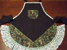 Winter Pines Apron by whimseycottage on Etsy, $25.00