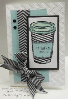 Stamping Addiction: Stampin' Addicts - New Catty Blog Hop - Perfect Blend