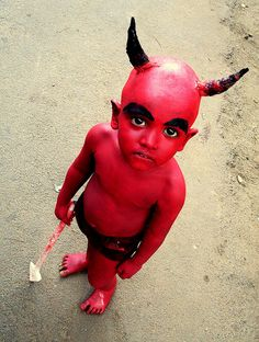 """Lil'' Devil"" Halloween costume"