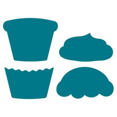 Tasty! This classic cupcake die will be a great treat for your library. The multiple sizes available will allow you a variety of options. Use them as page, frame and box accents.