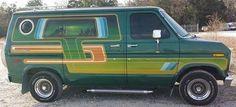 70's Ford customized van..vk