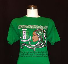 Alpha Kappa Alpha Like A Rose T shirt by LineupBoutique on Etsy