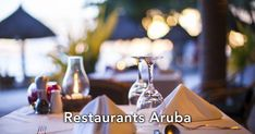Aruba - We all tend to go to restaurants our friends recommend, or ones we know well. This is where RestaurantsAruba.com comes in.