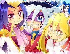 Joker Queen, Awesome Anime, Kaito, Mystery, Geek Stuff, Jokers, Anime Girls, Queens, Cartoons