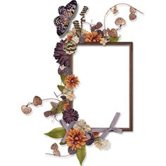 Frames Cluster ❤ liked on Polyvore featuring home, home decor, frames, backgrounds, borders, fillers, flowers, picture frames, detail and effect